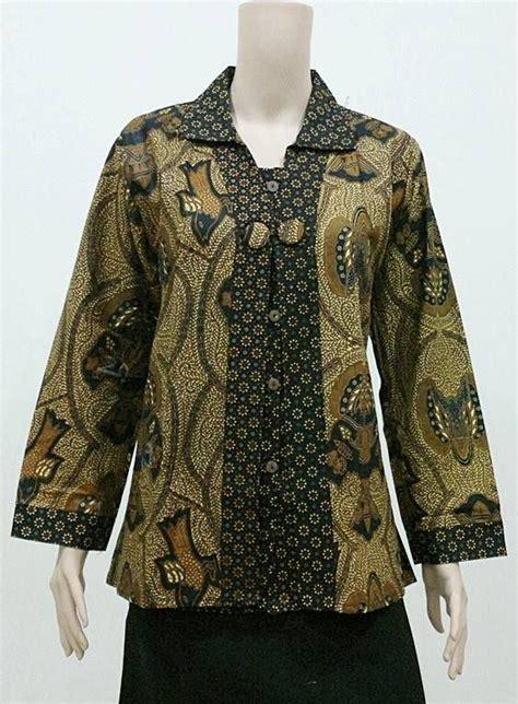 Model Baju Ukuran Jumbo koleksi baju batik ukuran jumbo big size untuk wanta gemuk