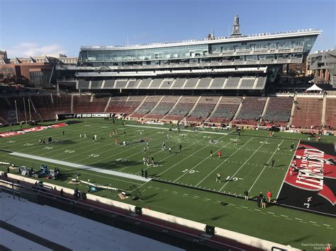 section 202 a 11 nippert stadium section 202 rateyourseats com