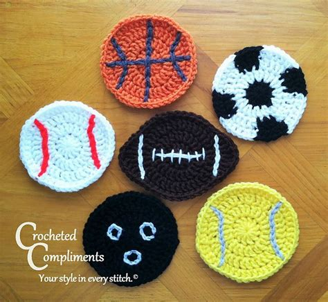balls up pattern ravelry sports ball coasters pattern by crocheted compliments