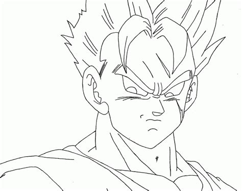 dragon ball z coloring pages gohan dragon ball z coloring pages gohan coloring home