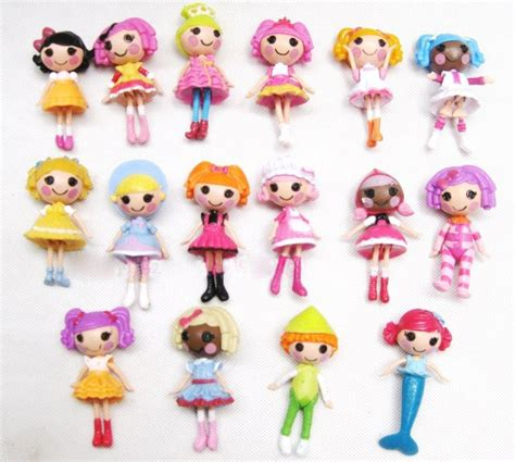 Figure Lalaloopsy Original 8pcs lot pvc mga lalaloopsy mini doll 8cm original decorations dolls mascot fashion