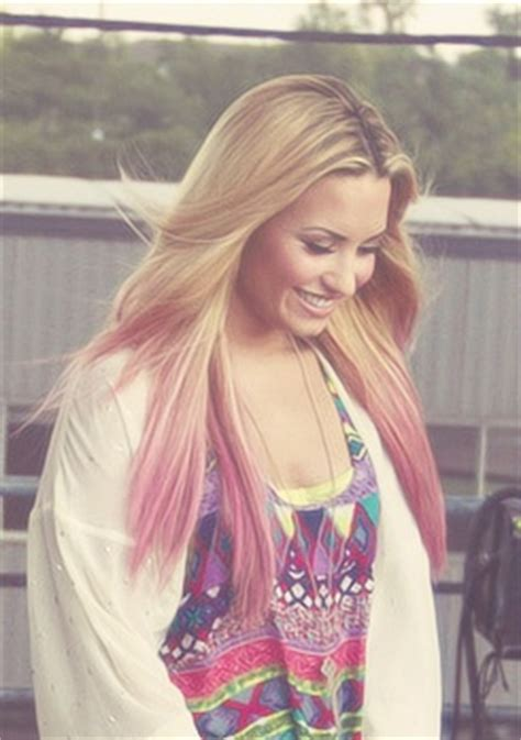 demi lovato inspired pink purple dip dye ombre hair best 25 pink dip dye ideas on pinterest dip dye dip