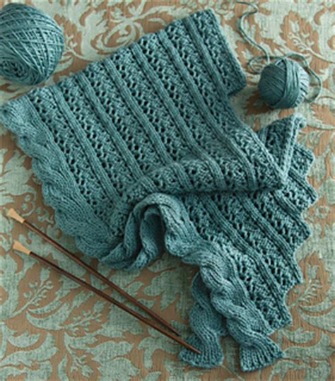 cascade yarn pattern errata ravelry lace and cable shawl pattern by erica schlueter