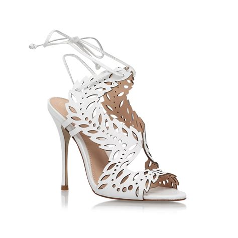 Limited Exclusive Sepatu Wedges High Heels Sandal Flatshoes Flat Laser horatio white high heel sandals by kg kurt geiger kurt geiger