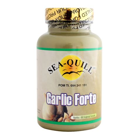 sea quill garlic forte 60 softgels gogobli