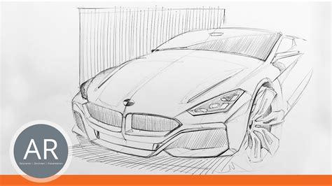 Auto Malen Youtube by Transportation Design Skizzen Autos Perspektivisch