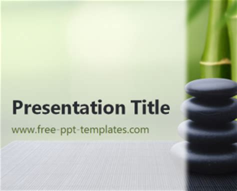 Presentation Zen Powerpoint Templates zen stones ppt template
