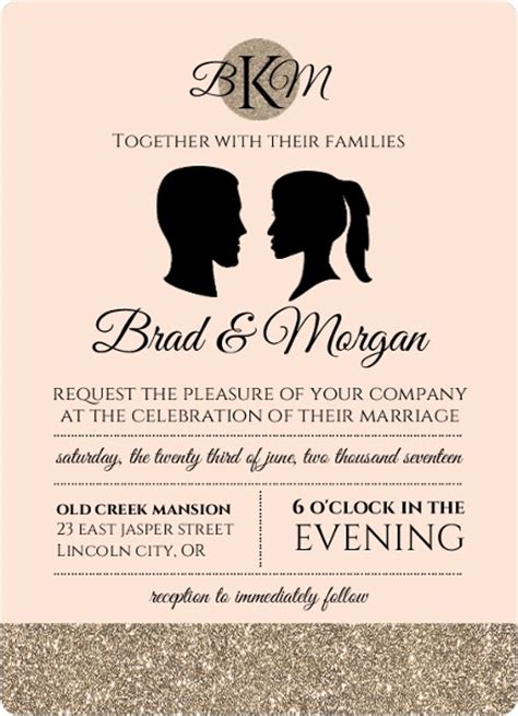 Wedding Invitation Wording For Third Marriage by How To Word Wedding Invitations Invitation Wording Ideas