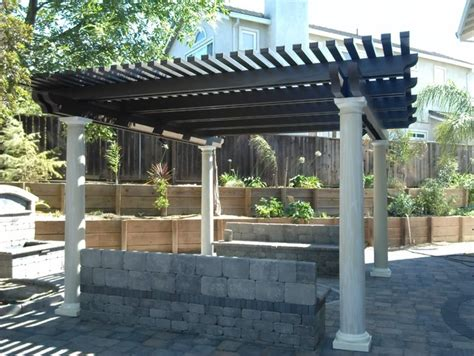 traditional patio covers lattice cover traditional patio orange county by