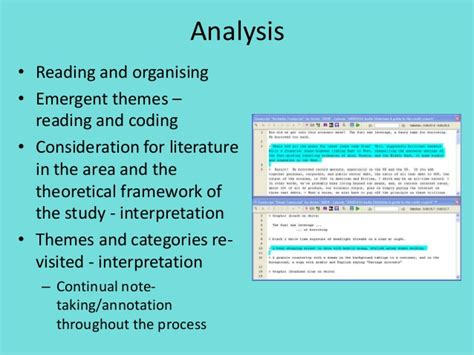 themes and categories in qualitative research qualitative analysis techniques comments tm 1