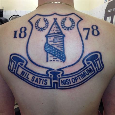 everton back piece northern soul tattoo liverpool