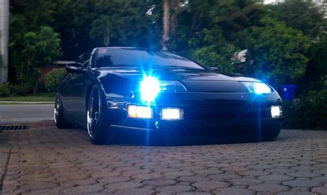 300zx Lights by Zilver Lights Led Front Running Lights Nissan 300zx 90 96