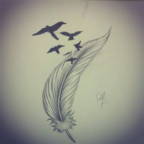 feather tattoo to draw draw feather 4 by qtattoo on deviantart