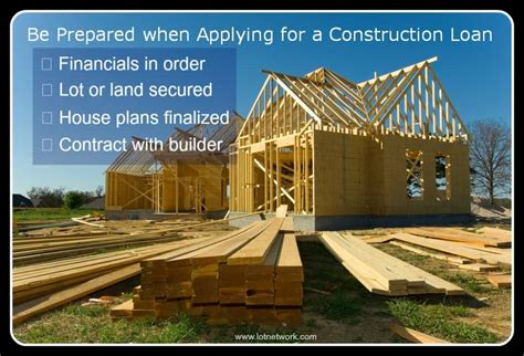 construction loan home building financing
