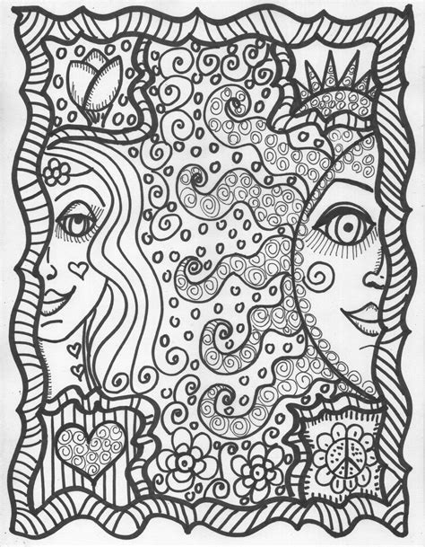 coloring pages hippie cool hippie coloring pages az coloring pages