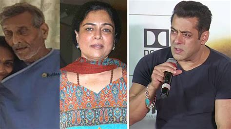 biography of mother and father salman khan reaction on reel life mother and father death