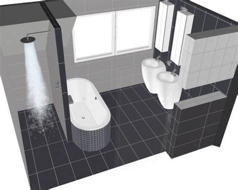 voorbeelden toilet indeling inspiratie voor badkamer indeling woning pinterest