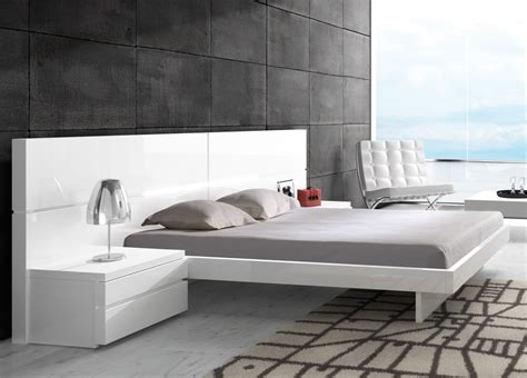white modern bed mistral contemporary bed contemporary beds modern beds