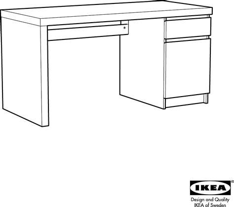 Ikea Bureau Malm by Handleiding Ikea Malm Bureau Pagina 1 32 Dansk