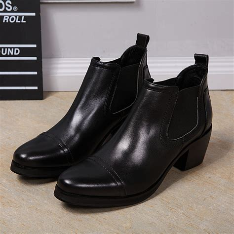 mens high heel dress boots buy wholesale high heel dress shoes for from