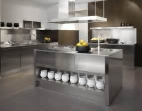 stainless steel kitchen island modern home exteriors