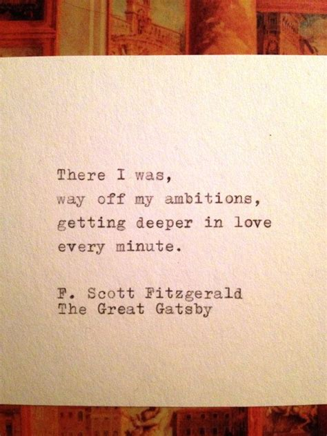 quotes for themes of the great gatsby the great gatsby quote typed on typewriter 2062241 weddbook