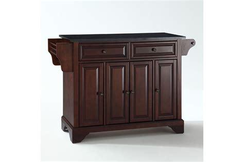 solid wood kitchen island in black finish guildmaster lafayette solid black granite top kitchen island in