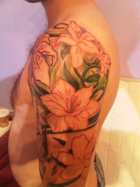 tattoos pictures men orchid tattoos designs ideas and meaning tattoos for you