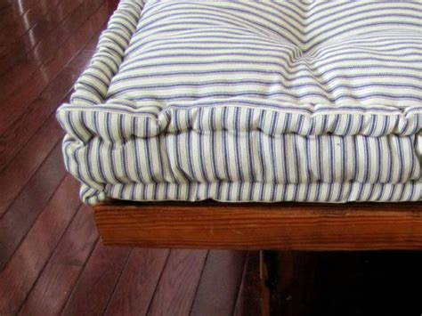 made to order bench cushions custom bench cushion ticking stripe window seat cushion