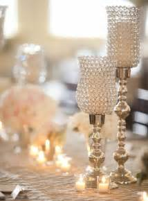 silver table centerpieces wedding candle decorations archives weddings romantique
