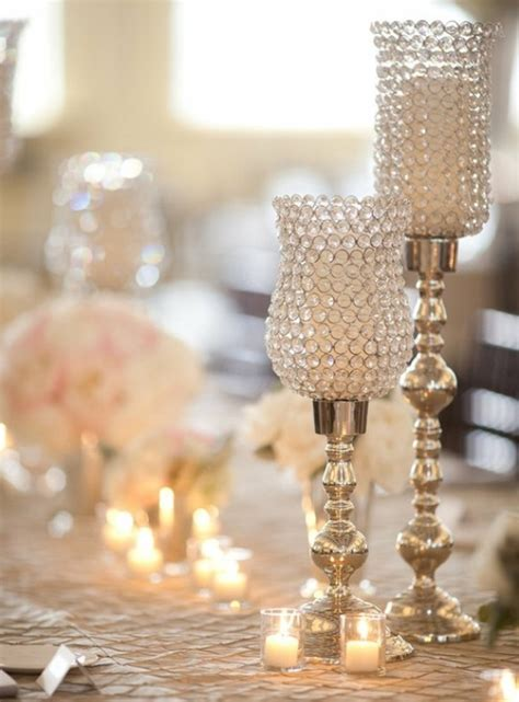 ideas for centerpieces wedding candle decorations archives weddings romantique