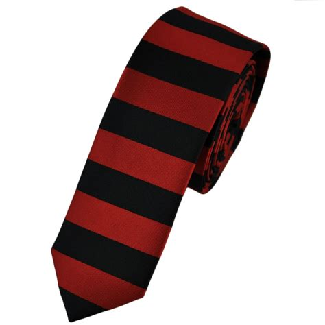 black horizontal striped tie from ties planet uk