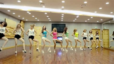tutorial dance touch my body sistar 씨스타 quot touch my body quot dance practice ver
