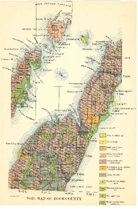 wisconsin geological history survey 187 soil maps