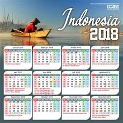 kalender indonesia tahun 2018 cdr beserta hari libur dan