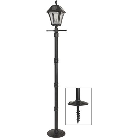 Dusk To L Post by Gama Sonic Baytown Ii Solar Dusk To Led Post Light