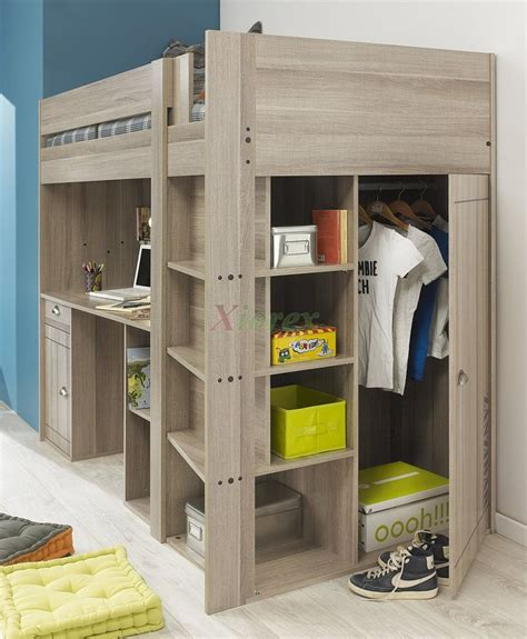 bunk beds for teenagers with desk best 25 bunk bed with desk ideas on bedroom