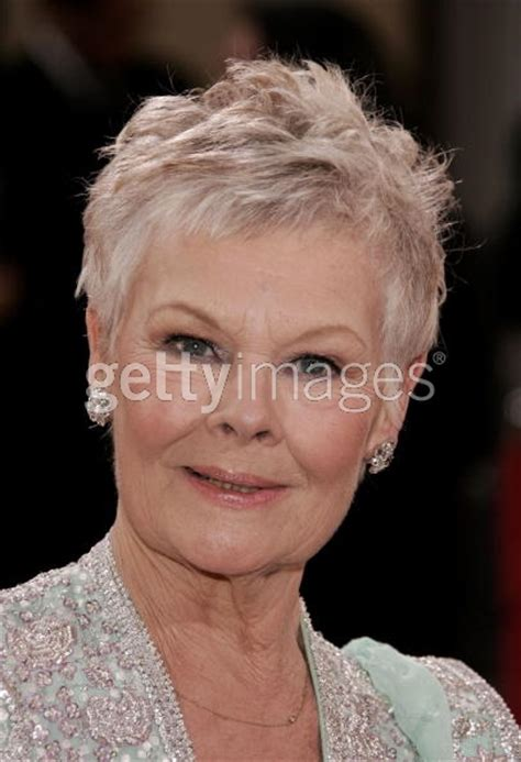 judi dench haircut instructions hairstylegalleries com
