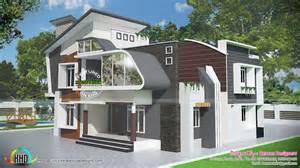unique contemporary 4 bedroom house kerala home design