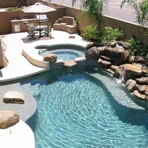 how to build a pool waterfall this is the story of how a homeowner decided to build his