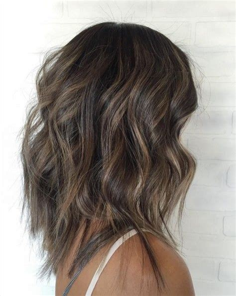 medium balyage hairstyles 10 medium length styles perfect for thin hair thin hair