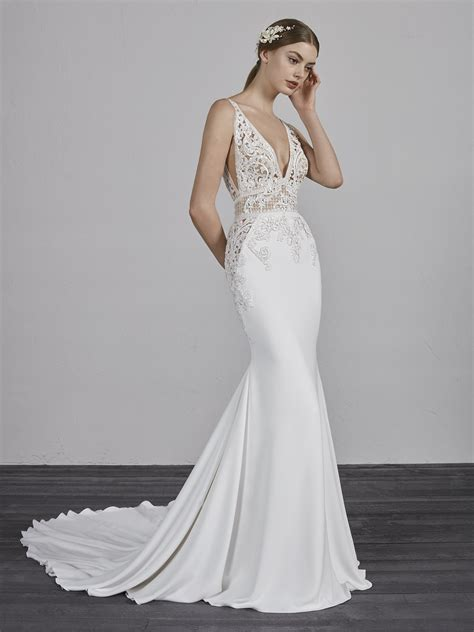 pronovias london wedding dresses  mirror mirror