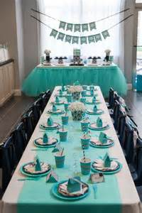 Breakfast at tiffany s party this would be perfect for a bridal