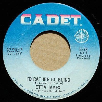 Etta I D Rather Go Blind Vinyl - roots vinyl guide