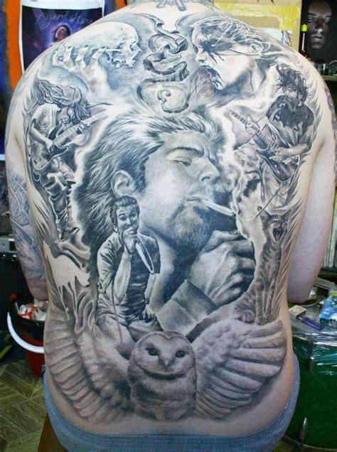 tattoo back murals axi goregots super genius tattoo seattle wa black and