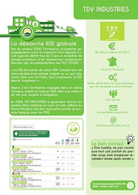 Cabinet Conseil Développement Durable by Rse Le Medef Et Ecovadis Publient Un Guide Pratique Pour
