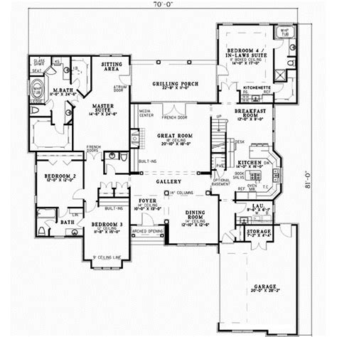 wwwluxury2bedroomensuitegreatroomhomeplanscom luxury house plan 4 bedrooms 4 bath 3568 sq ft plan 12 479