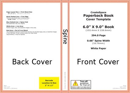 Createspace Book Cover Template Createspace Cover Template Peerpex