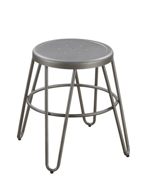 18 Bar Stools On Sale by 4 Galway Gunmetal Hair Pin Style Legs 18 Inch Bar Stools