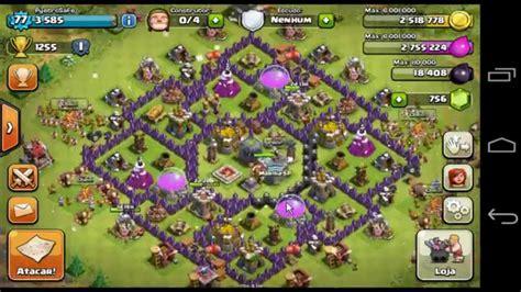 youtube layout para guerra cv 8 clash of clans layout de guerra cv 8 anti dragon youtube